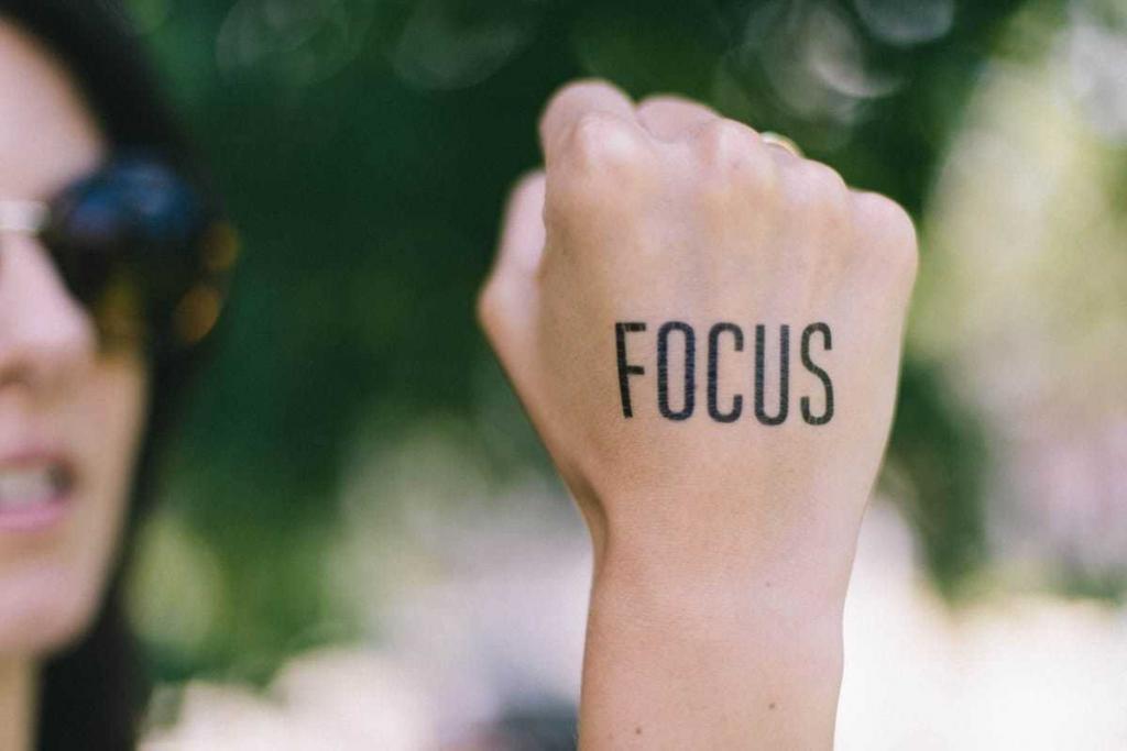 Focus tijdens afvallen behouden voor behalen ideale streefgewicht